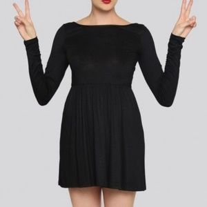 Gypsy Warrior black mini dress